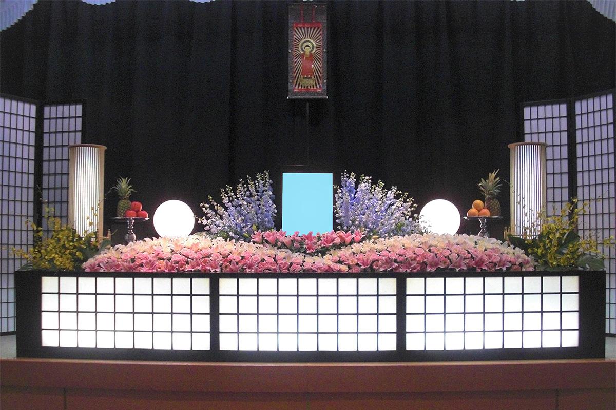 デザイン生花祭壇タイプ
