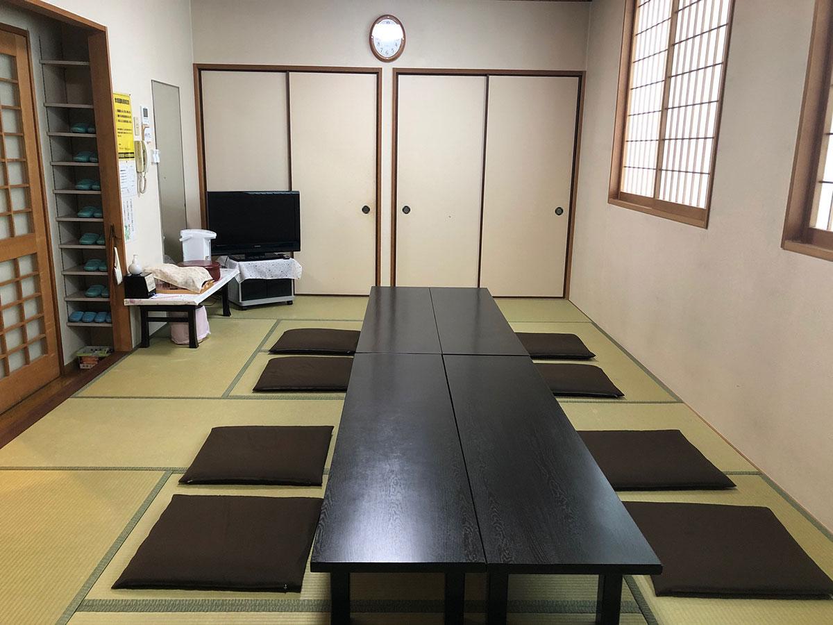 高田斎場控室